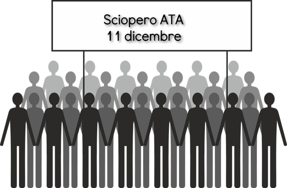 Sciopero personale ATA, la nuova data è mercoledì 11 dicembre 2019