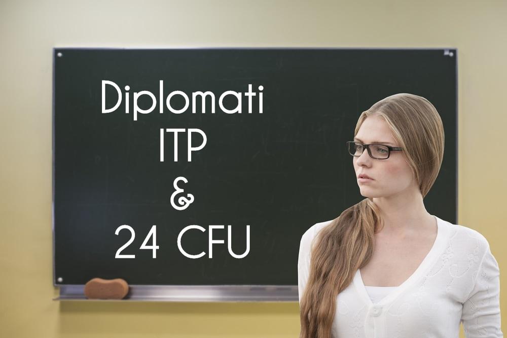 Diplomati ITP e possesso dei 24 CFU per concorsi, Tfa sostegno e terza fascia