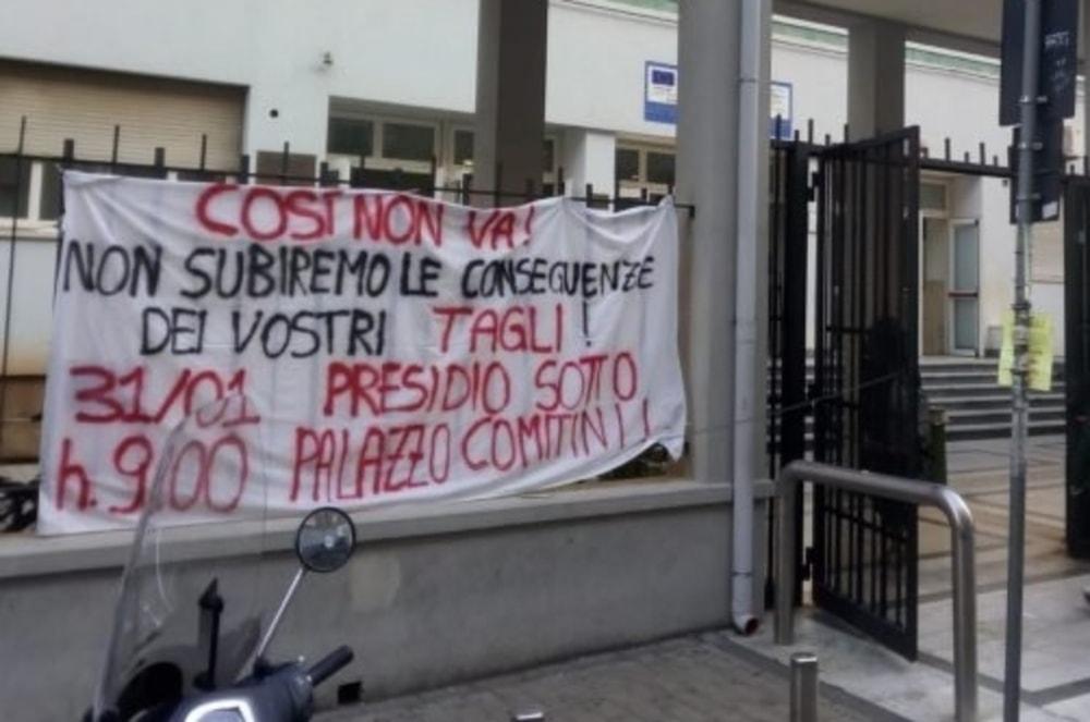 Palermo, studenti annunciano sit-in per il 31 gennaio