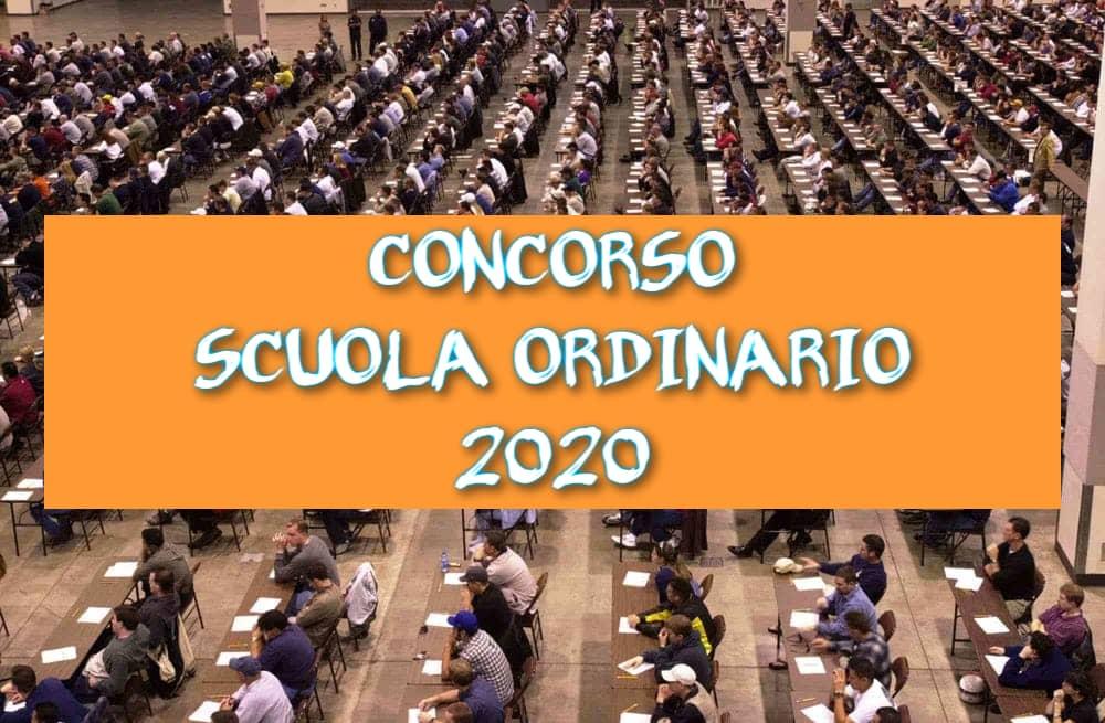 Concorso Scuola Ordinario 2020: bando e requisiti da Gazzetta Ufficiale