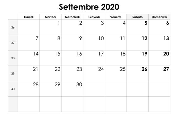 Inizio anno scolastico 2020 2021