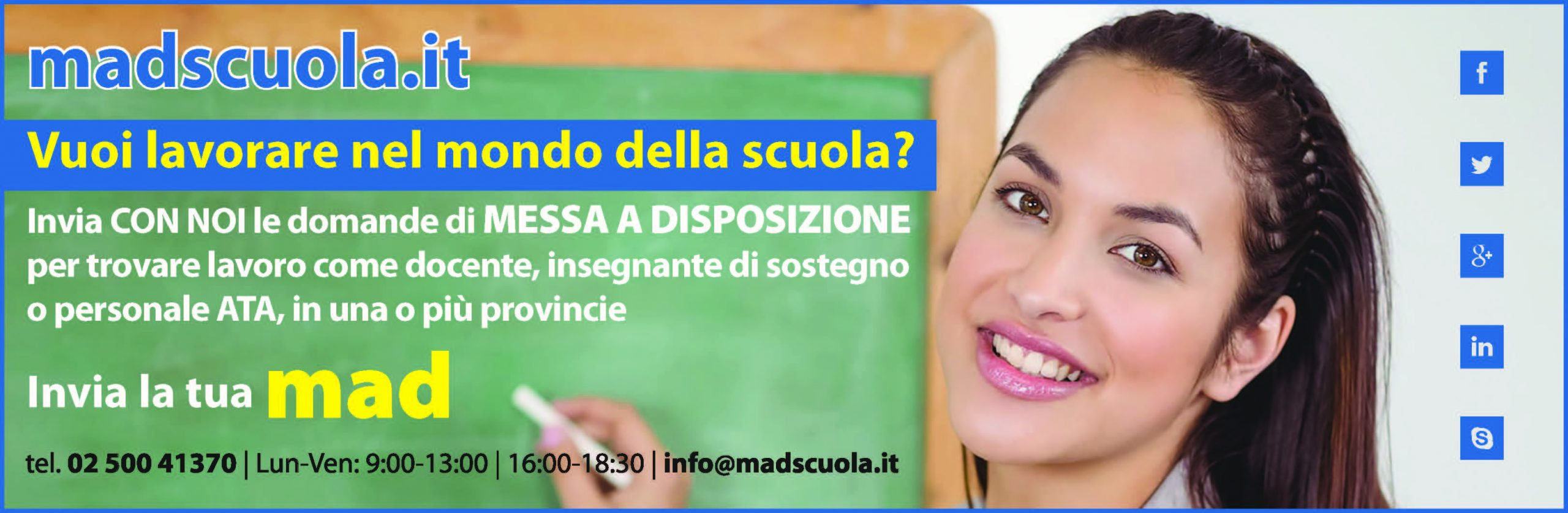 madscuola.it portale invio mad online
