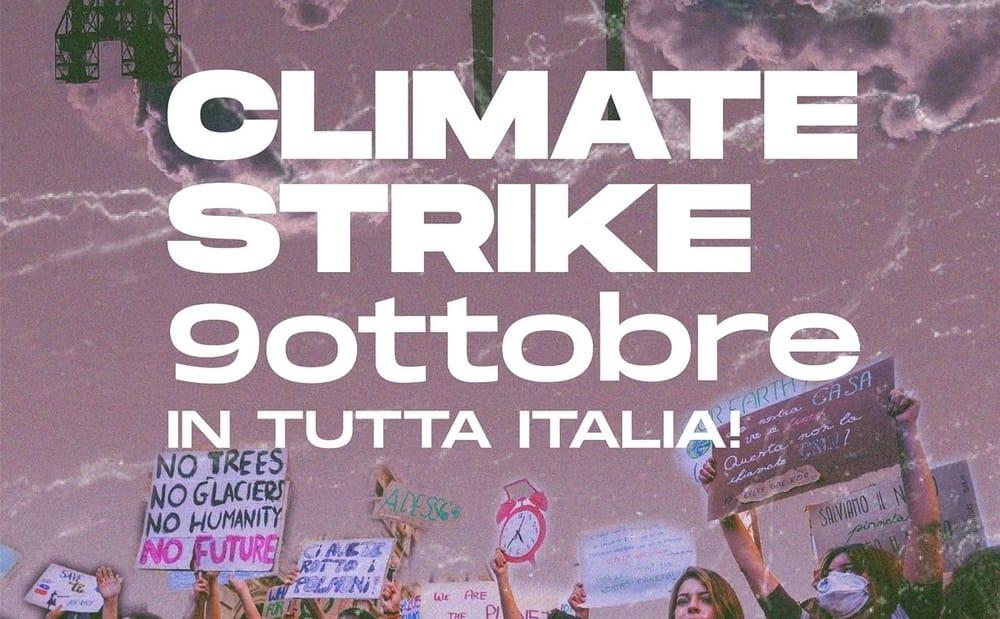 Fridays For Future Italia: venerdì 9 ottobre giornata di sensibilizzazione