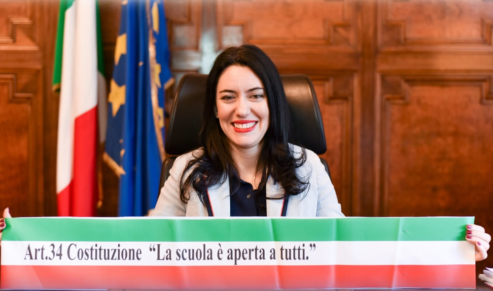 Il congedo di Lucia Azzolina da Ministro dell'Istruzione