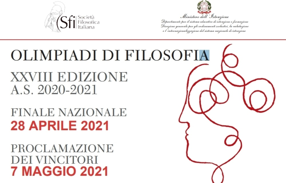 Olimpiadi di Filosofia 2020/2021: oggi venerdì 7 maggio proclamazione dei vincitori