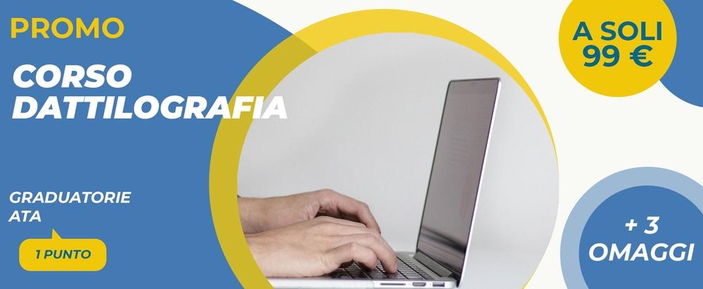 Corso Dattilografia Personale ATA: punteggio, costo e attestato