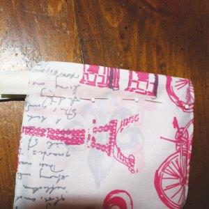 sewing 5 snap bag