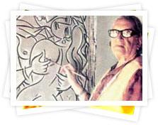 George Keyt murals