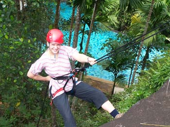 Boulder Garden Hotel Resort Kalawana Sri Lanka - Climbing Activity