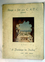 A Passage To India: Santha Rama Rao wrote the stage play based on the Forster novel.