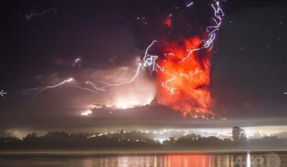 火山噴火1