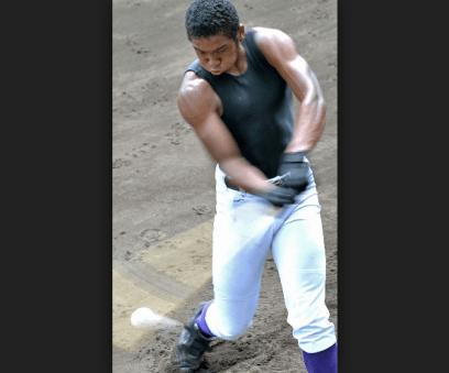 オコエ瑠偉 おこえるい 筋肉 画像 写真