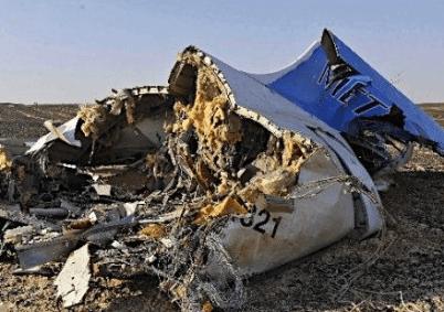 ロシア旅客機 墜落  残骸 画像 写真