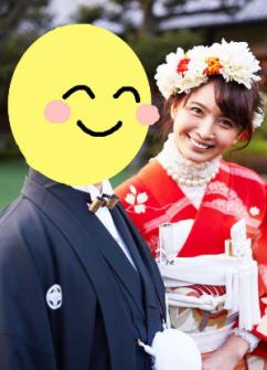 加藤夏希 結婚式 ドレス画像