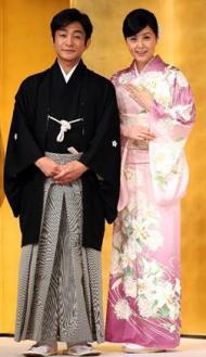 愛之助 藤原紀香 結婚画像