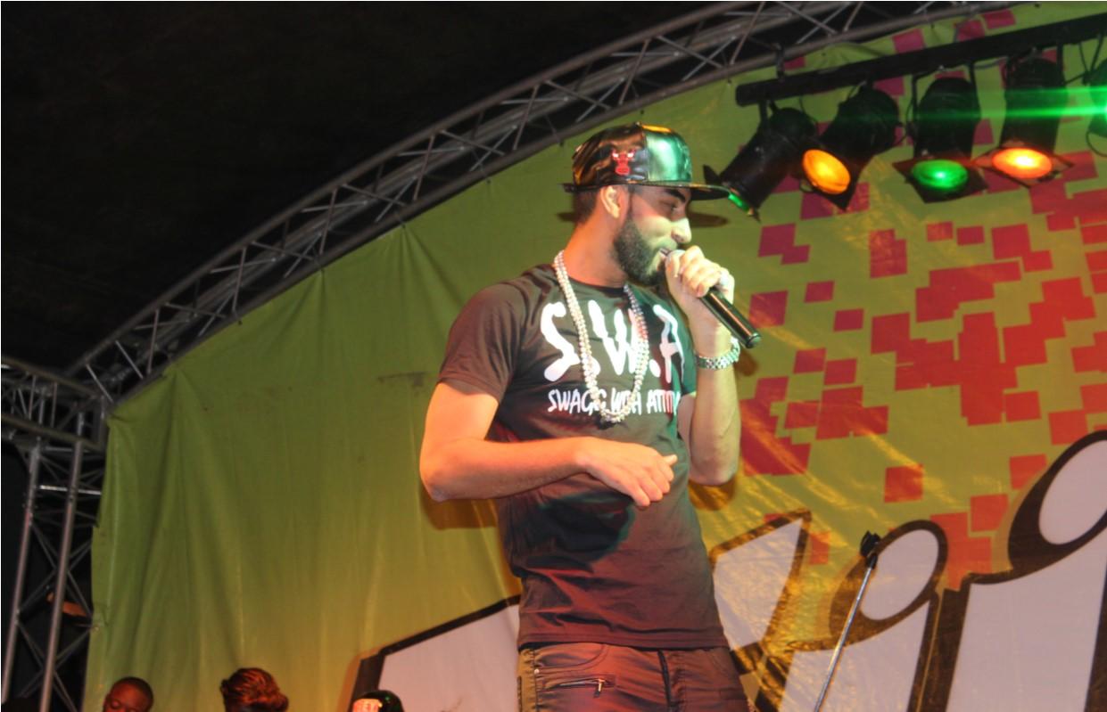 La Fouine en concert à Lubumbashi le 18 mai 2014