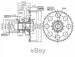 D76529 Chain Drive Sprocket For Case-ih Skid Steer Loader