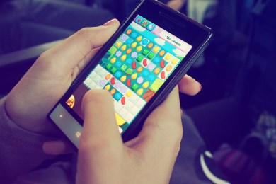 candy crush saga not working after update