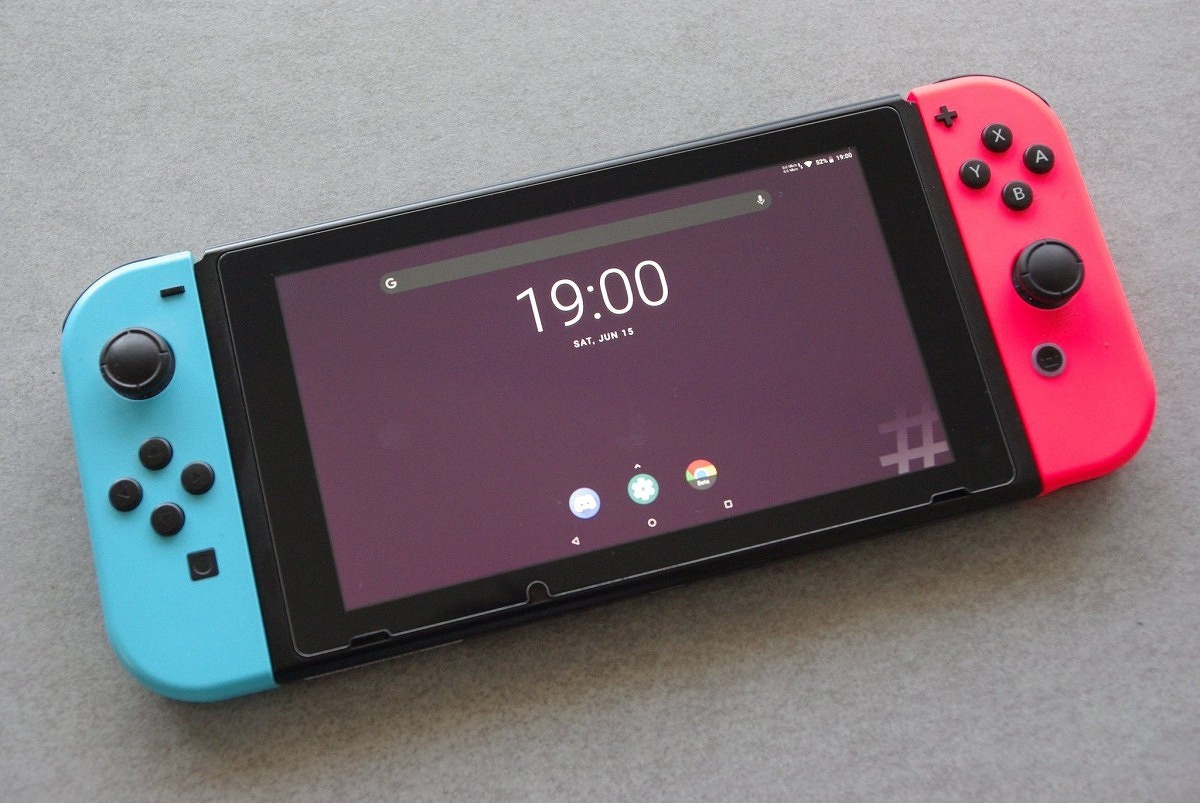 Nintendo switch has unofficial Android running