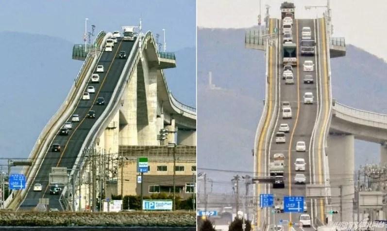 I 5 Ponti più Pericolosi del Mondo: Eshima Ohashi Bridge