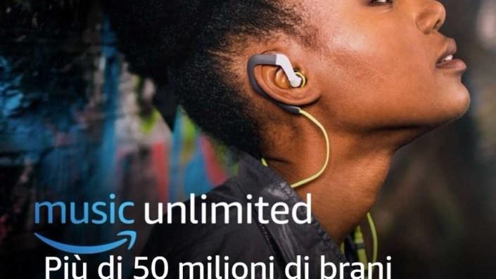 Amazon Music Unlimited: 30 giorni prova gratis