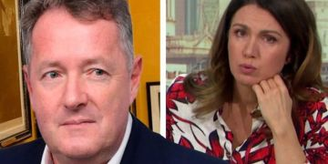 Susanna Reid 'left in tears' after GMB co-star Piers Morgan's trolls start to target her