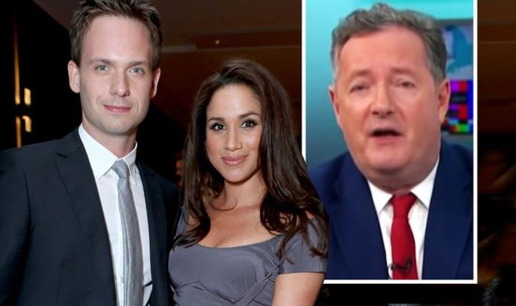 'How dare you' Piers Morgan brands Patrick J Adams' comments on Royal Family 'disgusting'