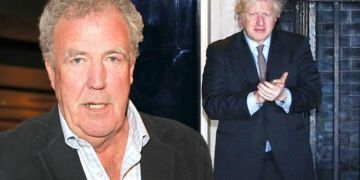 Jeremy Clarkson takes aim at Boris Johnson over Downing Street refurb in own home update