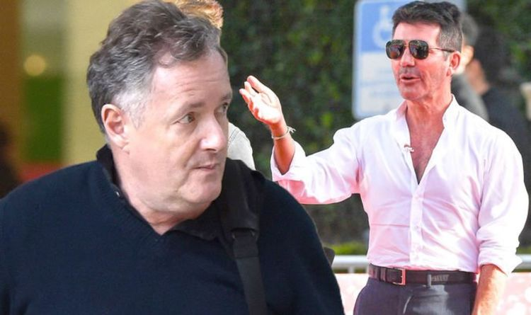 Piers Morgan scolded by elderly lady for Meghan remarks on 7-mile walk with Simon Cowell