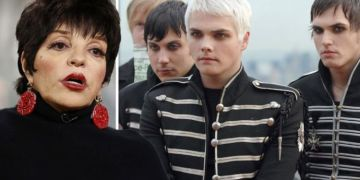 Liza Minneli's surprise appearance on My Chemical Romance album The Black Parade