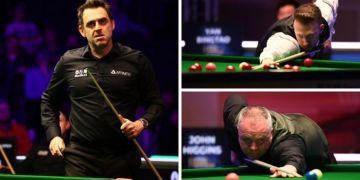 Tour Championship snooker 2021 LIVE results: Ronnie O'Sullivan leads John Higgins 5-3