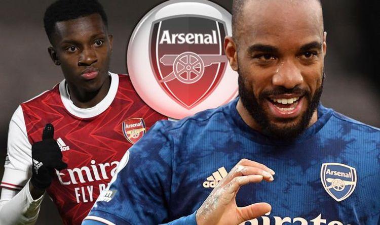 Arsenal star Eddie Nketiah sends message to Mikel Arteta amid Alexandre Lacazette dilemma