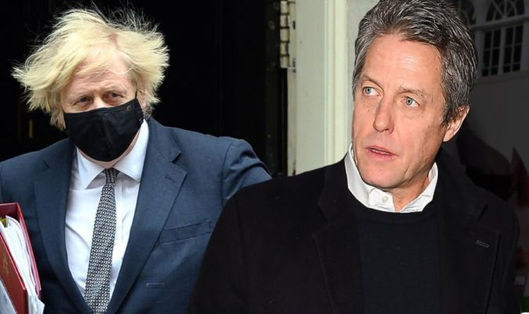 Luvvie Hugh Grant accuses Tory government of using pandemic to 'enrich' their friends