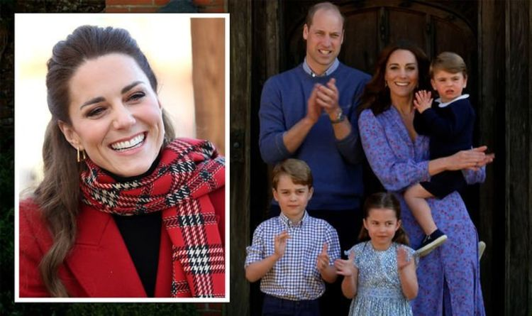 Kate Middleton 'enjoys' playing an 'active' parenting role for George, Charlotte and Louis