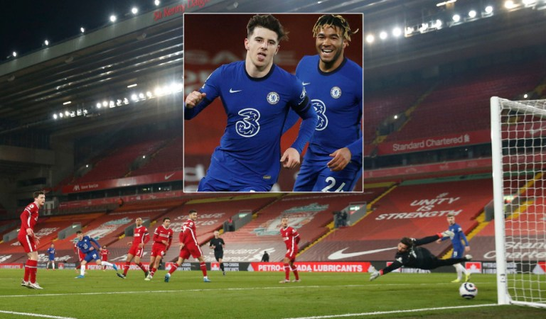 Tuchel makes it 10: Chelsea's run goes on as Premier League champions Liverpool lose five in a row at home for the first time ever