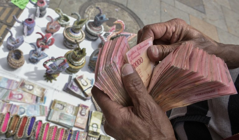 Venezuela to issue 1-million-bolivar bill, but it's worth only 50 cents amid raging hyperinflation