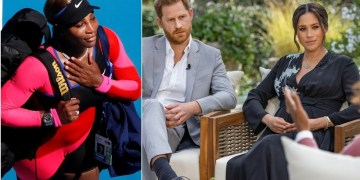 'Vilifying women and people of color': Serena pens gushing note of support to pal Meghan after bombshell Oprah interview