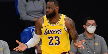 LeBron James accused of 'wishy-washy' vaccine stance as he refuses to say if he will get Covid jab
