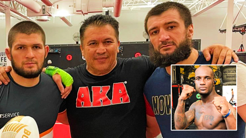 Khabib Nurmagomedov's cousin Abubakar aims to avenge UFC debut defeat this month after 'Hollywood' jibe at Sterling over Yan fight
