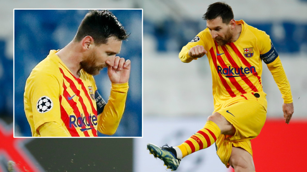 Going out with a bang: Lionel Messi's astounding goal can't save Barcelona as he follows Cristiano Ronaldo out of Champions League