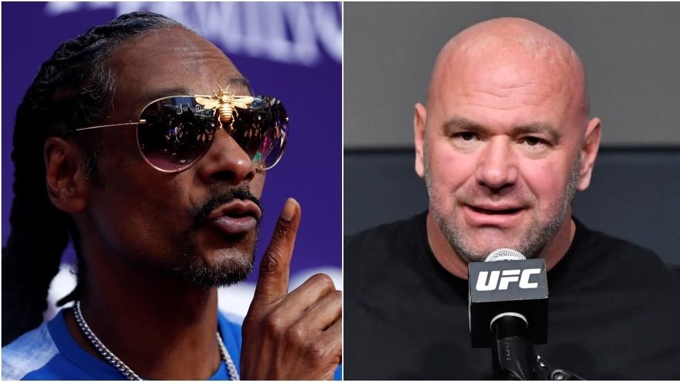 Snoop Dogg challenges UFC boss Dana White to $2 MILLION