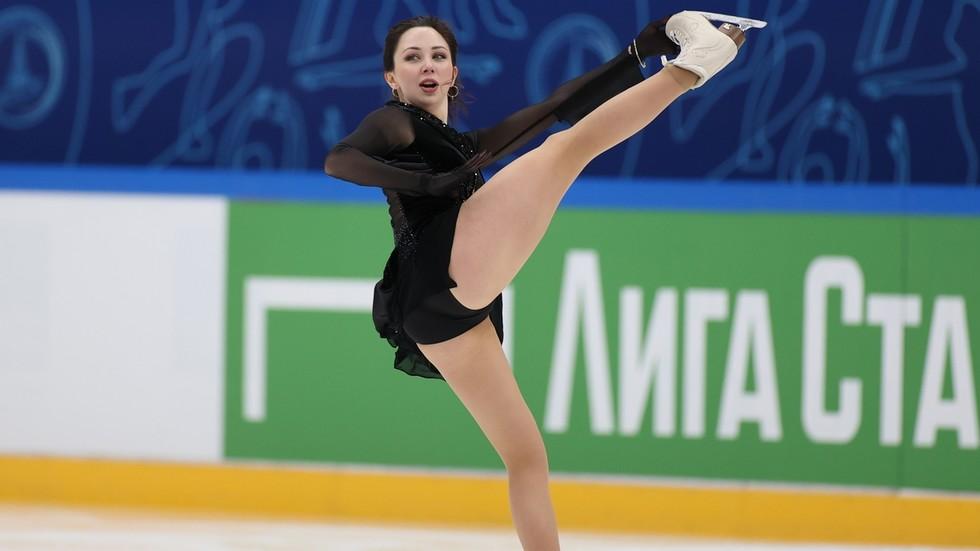 'It gives you sense of purpose to live': Skating star Tuktamysheva says call-up for world championships left her 'overwhelmed'