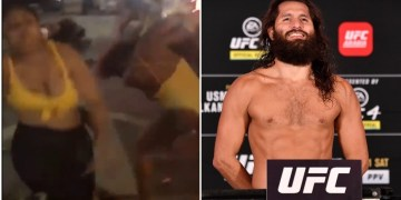 'I'd pay 4.99 for this': UFC superstar Jorge Masvidal jokes viral bikini-clad Miami street brawls should be on PPV (VIDEO)