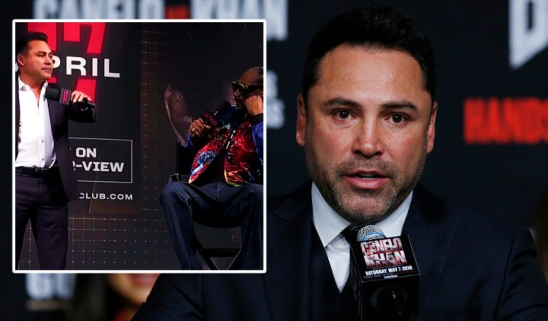 'No one wants to see it': Boxing veteran De la Hoya earns mockery after dropping mic to tell rapper Snoop Dogg of comeback (VIDEO)