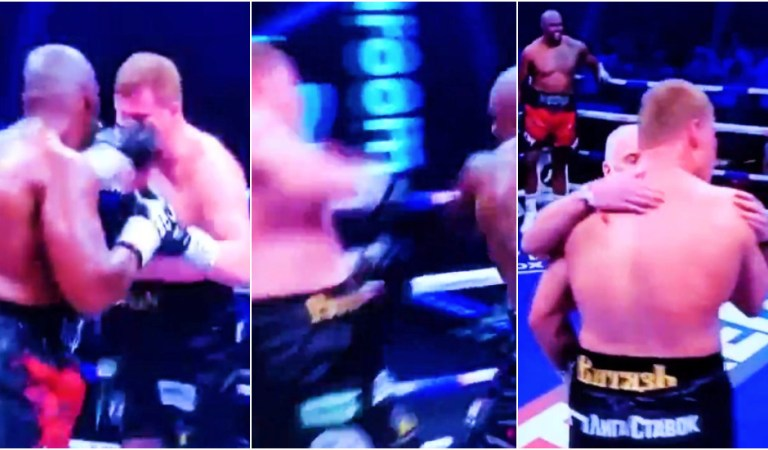 'He doesn't seem right': Concern for Alexander Povetkin as Russian warrior is knocked out in boxing rematch with Whyte (VIDEO)