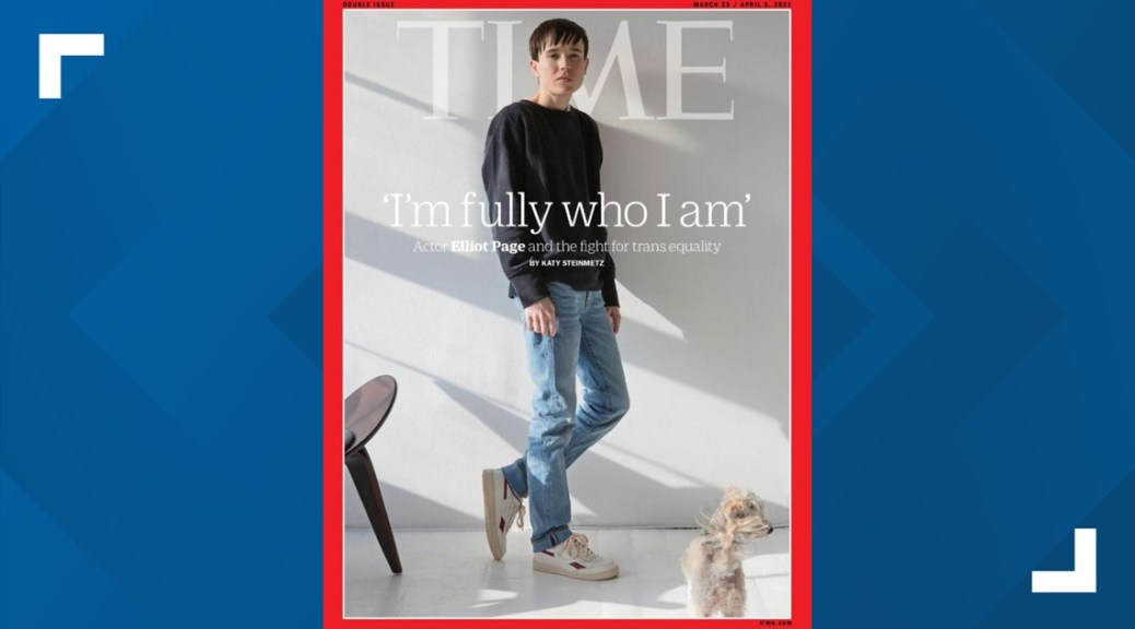 Elliot Page gives 1st interview since sharing transgender identity