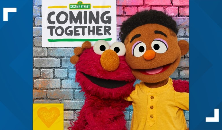Two Black Muppets join 'Sesame Street' to discuss race, racisms