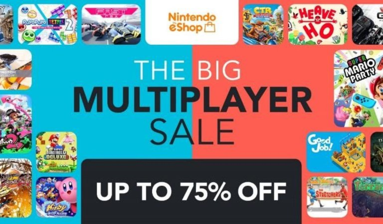 Reminder: Nintendo's Huge Multiplayer Switch Sale Ends This Weekend, Over 190 Games Reduced (Europe)