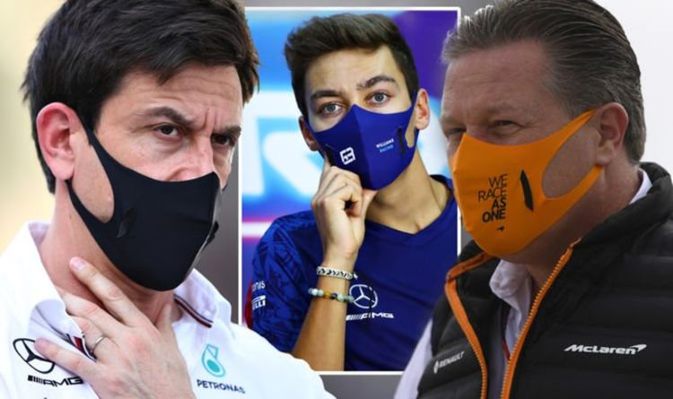 'They spread s**t!' – Mercedes spark Red Bull and McLaren war of words over George Russell
