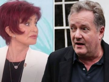 Piers Morgan thanks Sharon Osbourne as he admits she 'paid for' being a 'loyal friend'